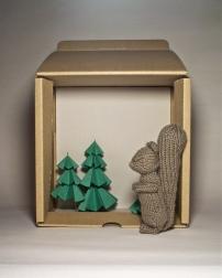 Squirrel Diorama