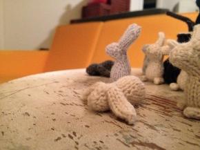 Knitting bunnies