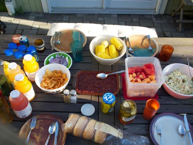 Summer time BBQs