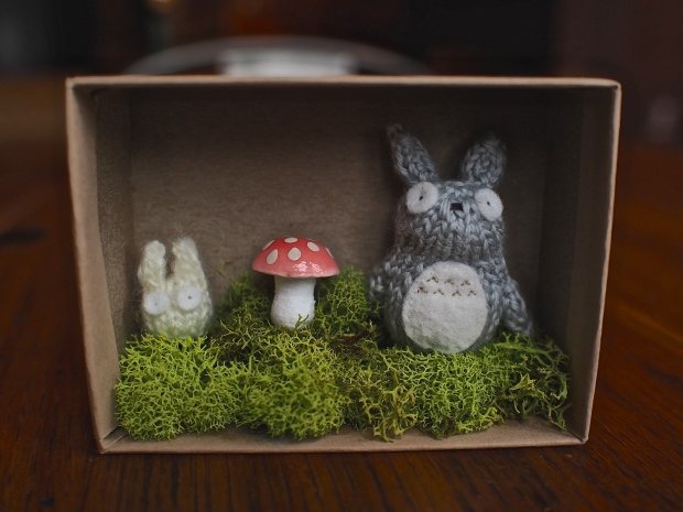 Knitted Totoro