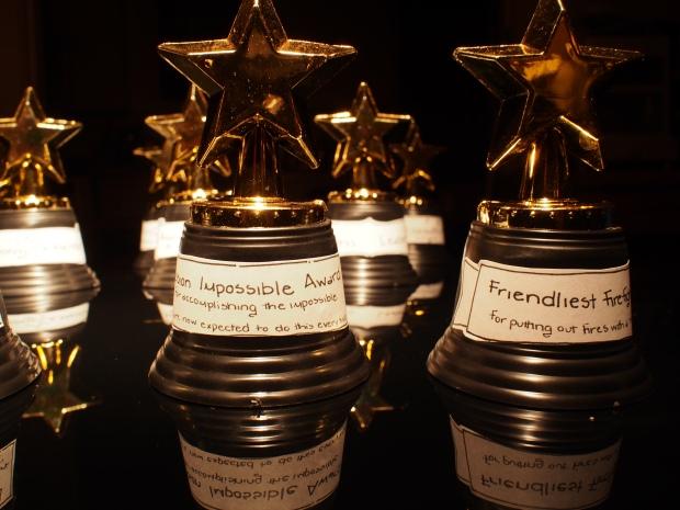 A-Team trophies
